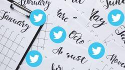 Twitter Party Calendar – 2019
