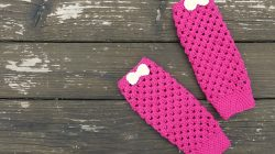 Crochet Leg Warmers + Final Blog Party