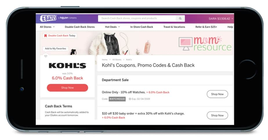 Save money even without Kohls coupons just by knowing this ONE easy tip. Get codes & free printables for all kind of products. These tips can be used on everything from kids boots to women shoes to bedding to juniors outfits to jewelry, dresses, kitchen, purses, eyeliner, plus size clothes, home decor & more. Use this hack to start saving money - even if it's not black friday or Christmas. No Kohls coupons? No problem!