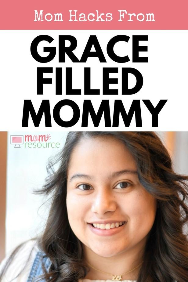 Looking for mom hacks or lifehacks for baby, toddlers or newborn? Claudia from Grace Filled Mommy shares her best mom hacks and lifehacks on her blog. Find out more about Claudia & her blog here.