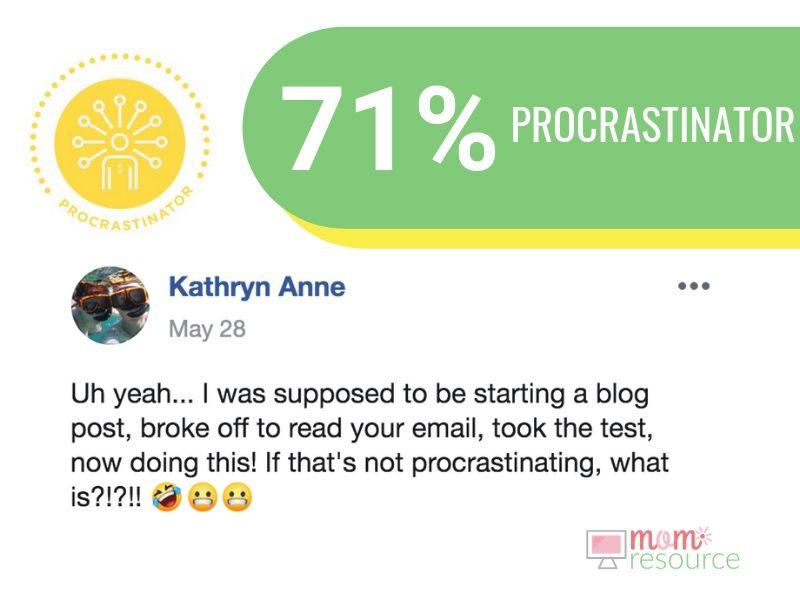 procrastinator quiz