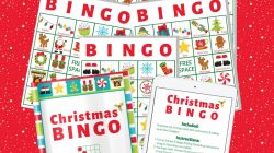 Christmas Bingo For Large Group – 140 Cards
