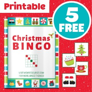 christmas bingo free cards