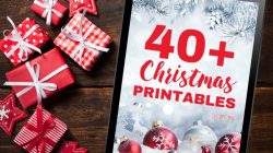 50+ Christmas Printables From Bloggers