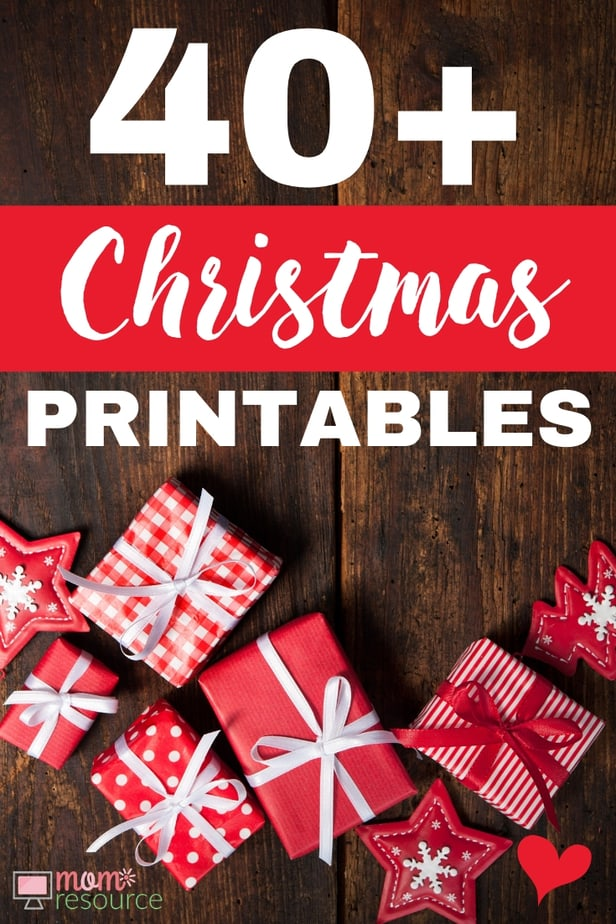 christmas printables from bloggers