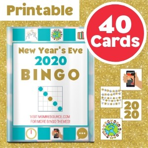 new years eve bingo