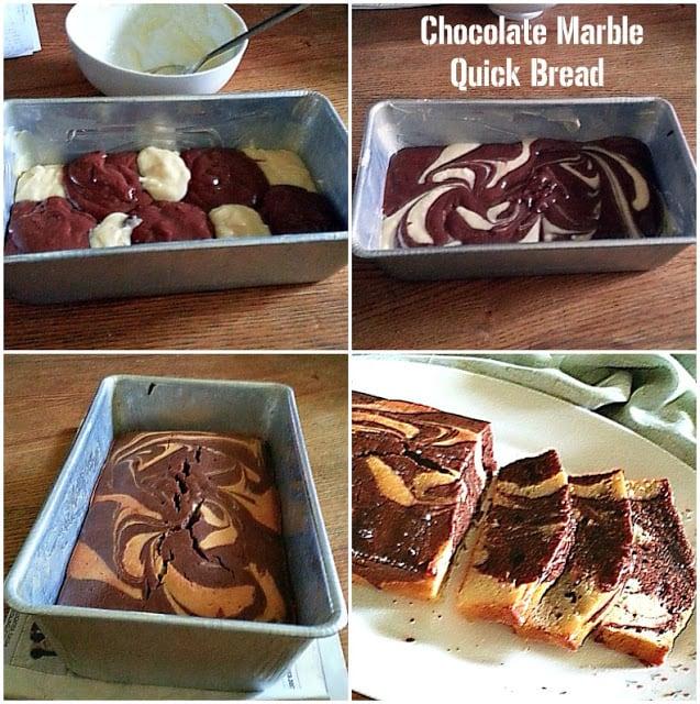 choc marble quick bread
