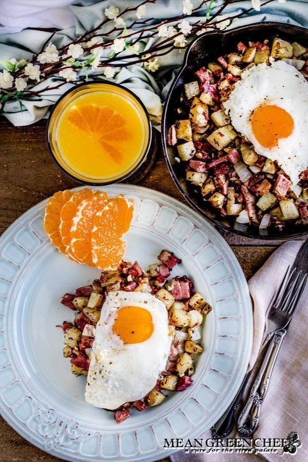 Classic Irish Corned Beef Hash