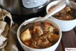 Instant Pot Irish Beef Stew With Beer