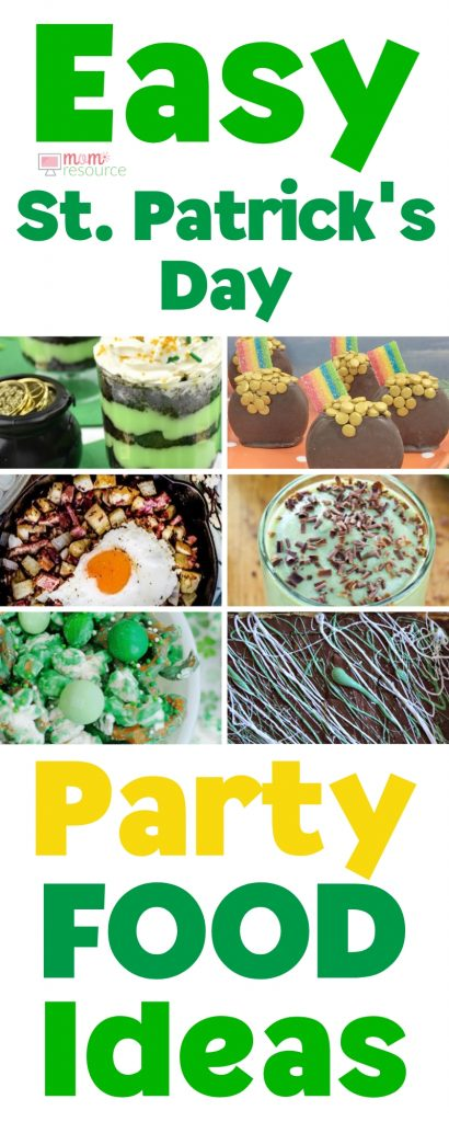 St Patricks Day Party Food ideas