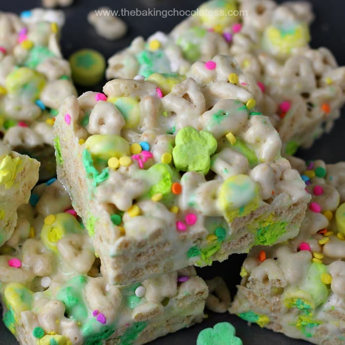 Lucky Charm Marshmallow Rice Krispies