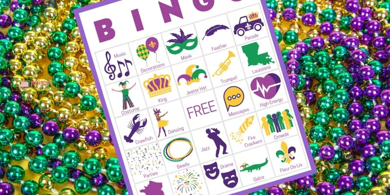 mardi gras party activities party games