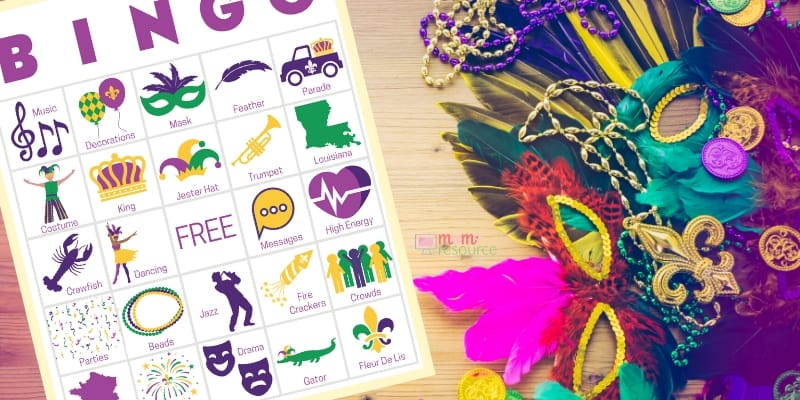mardi gras party games for work