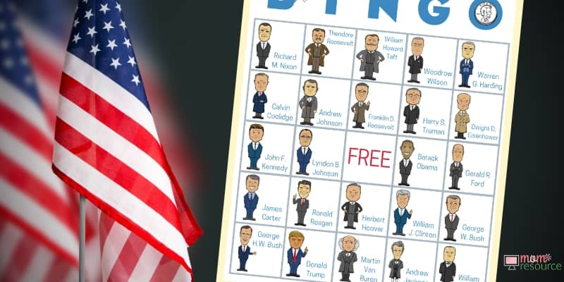 presidents day printable