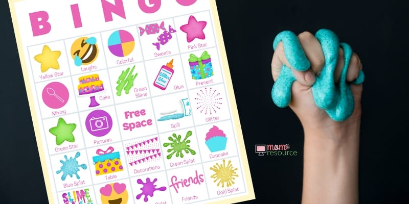 slime birthday party ideas games
