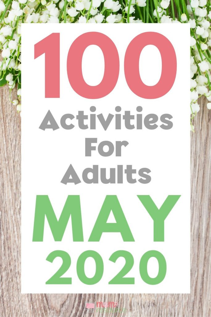 May activities for adults