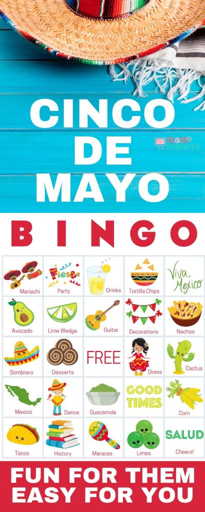 cinco de mayo activities for kids from home