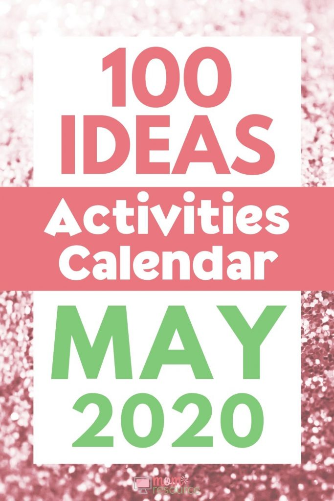 may activities calendar ideas