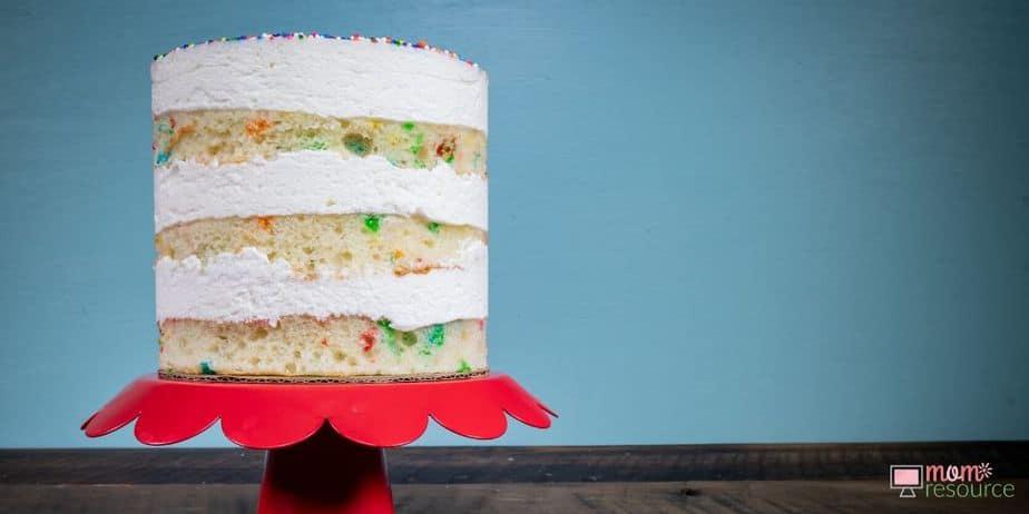 tiers cake