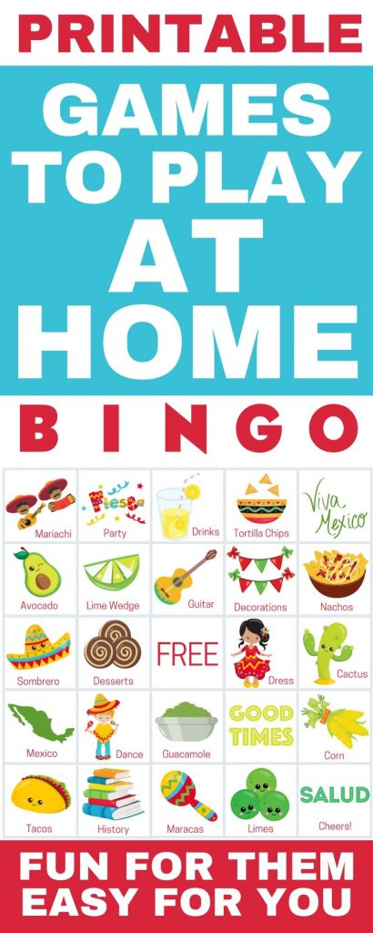 printable games to play at home cinco de mayo
