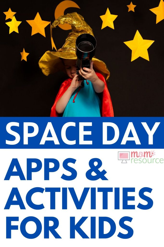 space day ideas for kids