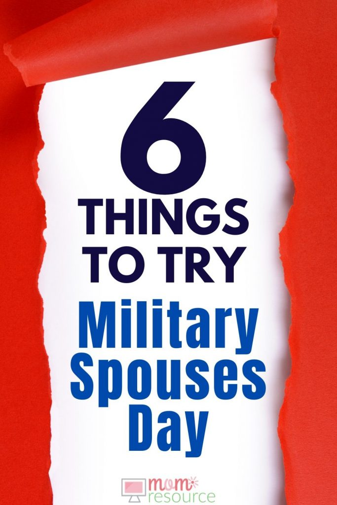 military spouses day ideas