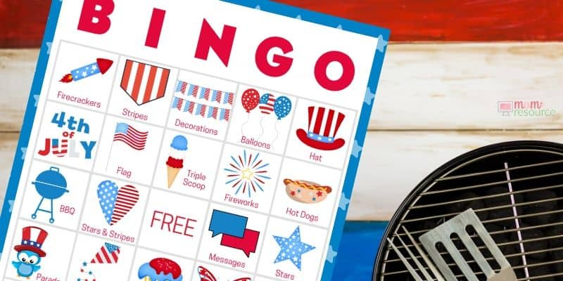 4th of july printables free for kids