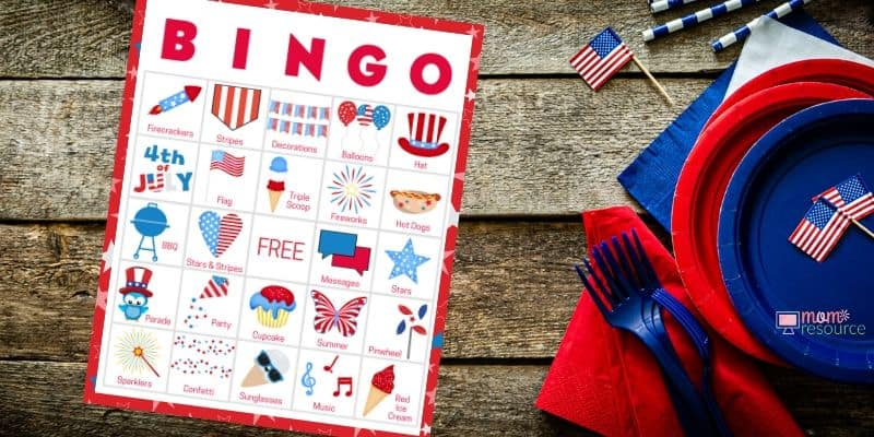 fourth of july printables free