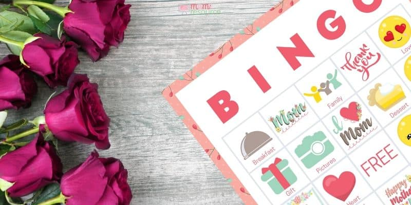 mothers day bingo game