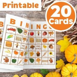 fall bingo 20