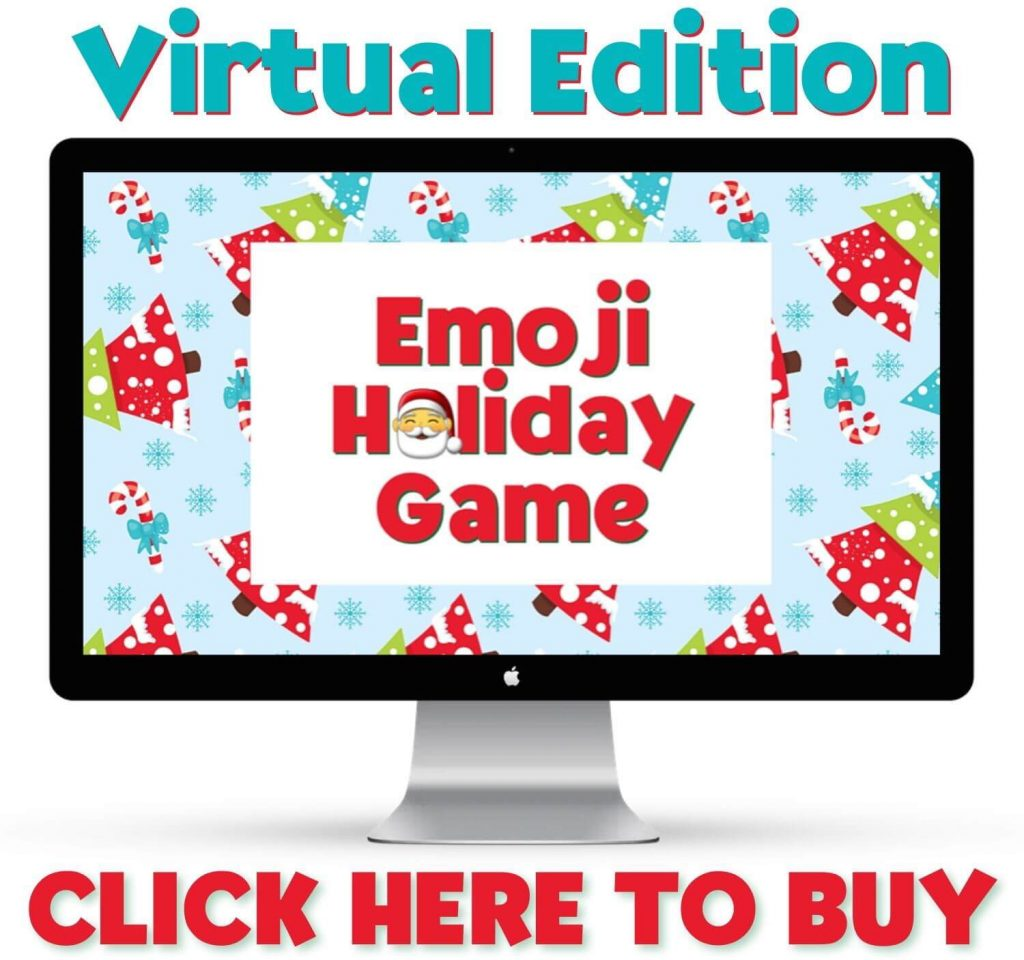 christmas emoji game virtual