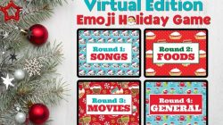 Christmas Emoji Game – Virtual & Printable