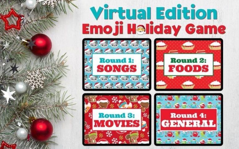 holiday emoji game