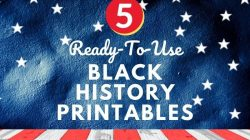 5 Best Black History Month Printable Activities