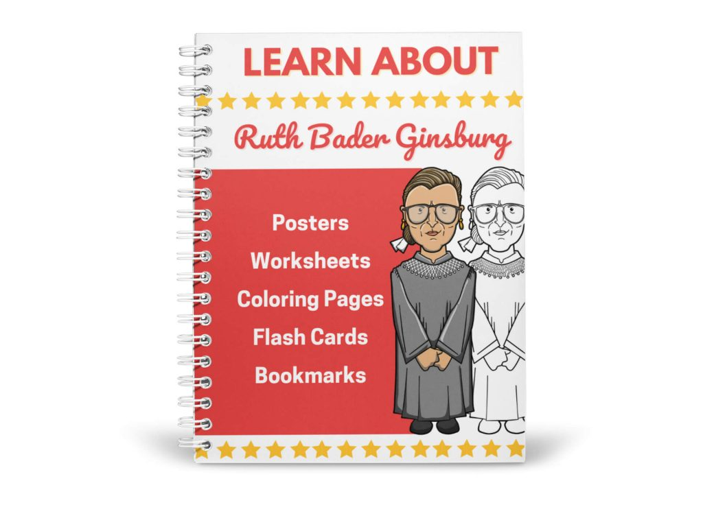 ruth bader ginsburg activities for kids printable