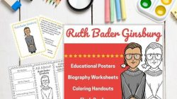 Ruth Bader Ginsburg Activities For Kids