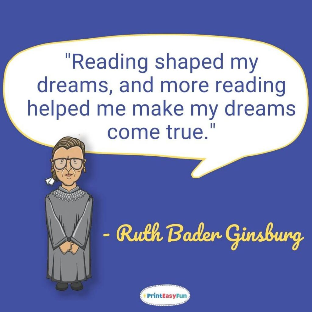 ruth bader ginsburg quotes on career